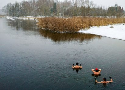 Winter swimming